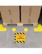 Embalajes para almacenes. Identificación de productos industriales.